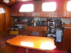 Sailing Yacht Kitchen